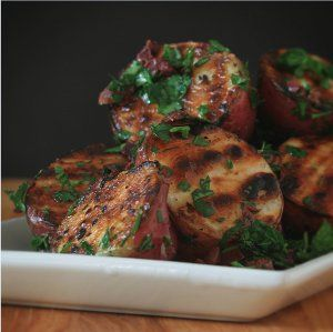 Grilled Herb Potatoes | Food ♥ One Potato, Two Potato... | Pinterest