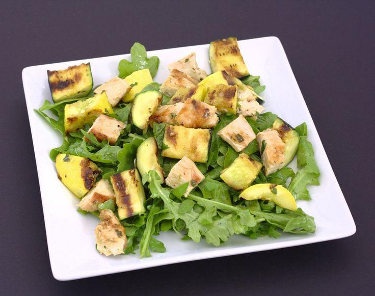 Grilled Chicken and Summer Squash Salad. | Kristine's Kitchen