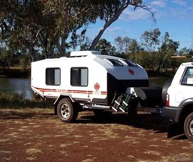 Creative Caravan Creative Caravans 4WD Caravan Offroad Caravan Off Road