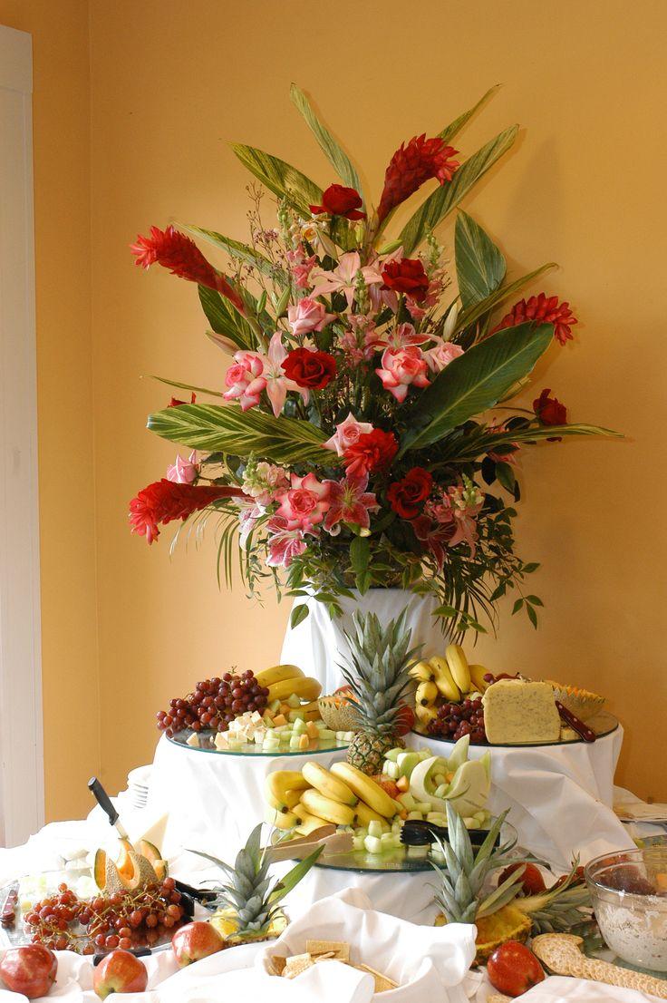 Tropical Arrangement Fat Cat Flowers New Orleans Weddings