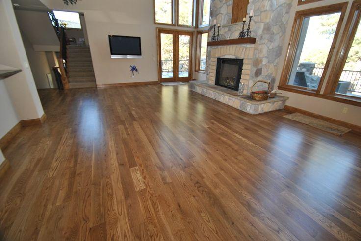 Natural white oak flooring home sweet home pinterest for Hardwood floors denver