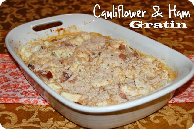 Cauliflower and Ham Gratin | A-Z Veggies.... | Pinterest