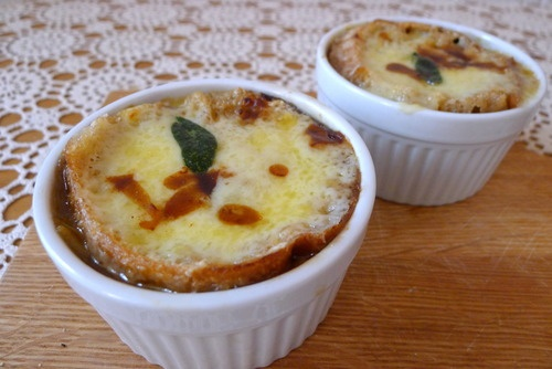 Mallory's Kitchen | Onion Soup with Sage and Irish Cheddar