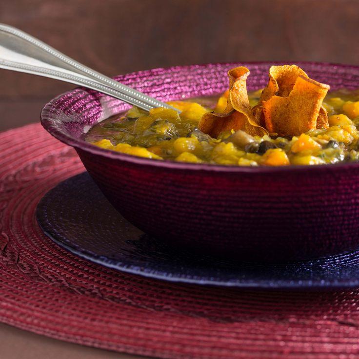 Chunky Vegetable Soup | Healthy Vegetable Soup | Pinterest
