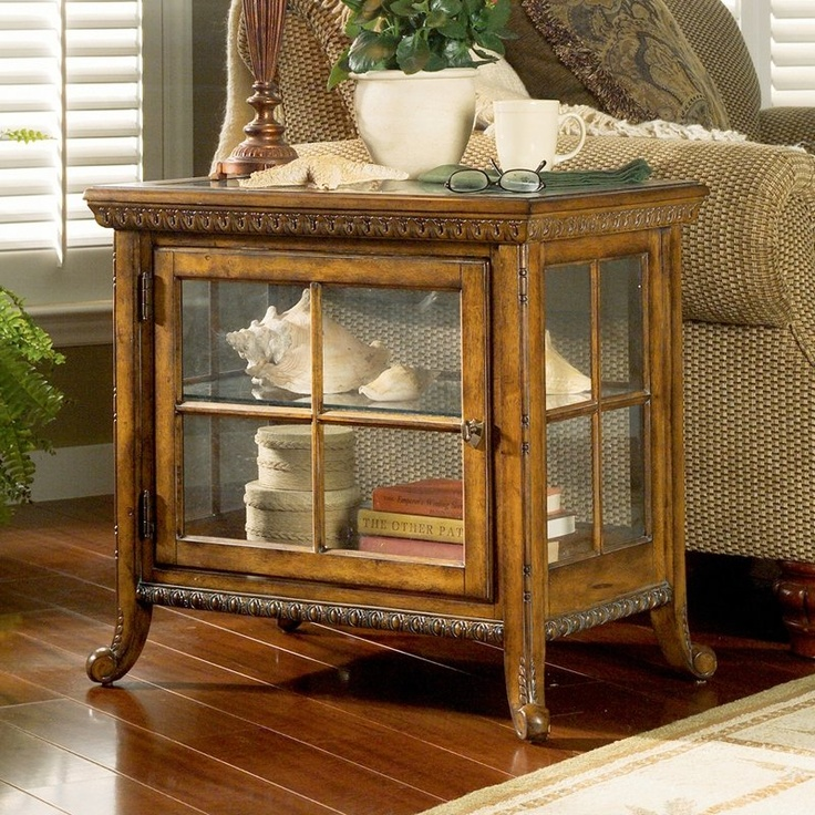 Butler Specialty 0339024 Plantation Side Chair Curio End Table