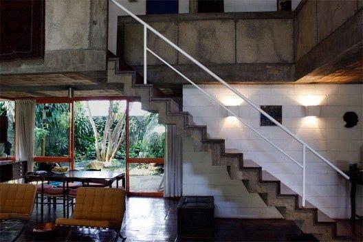 Residência Roberto Millán, Bairro Alto de Pinheiros, São Paulo SP, 1960. Arquiteto Carlos Barjas Millán