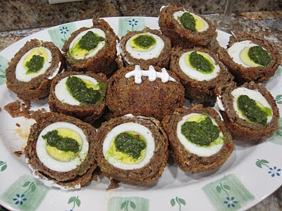 Scotch Eggs with Merguez and Charmoula | Yummy Recipes | Pinterest