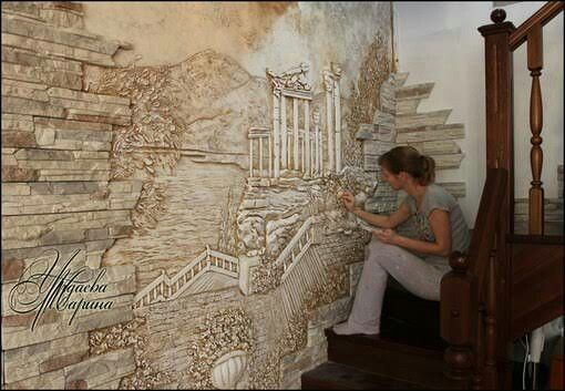 Арт-студия Натальи Кобзевой художественные и декоративные работы из гипса Барельеф Pinterest Sanat