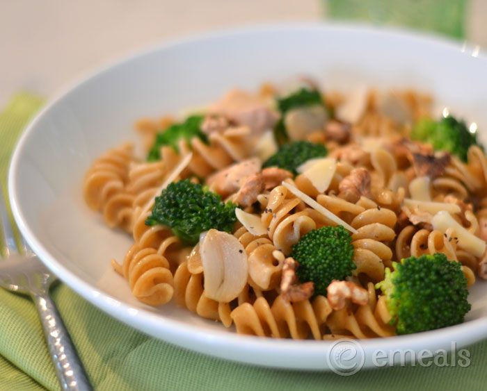 pasta and broccoli toss easy and healthful # broccolipasta