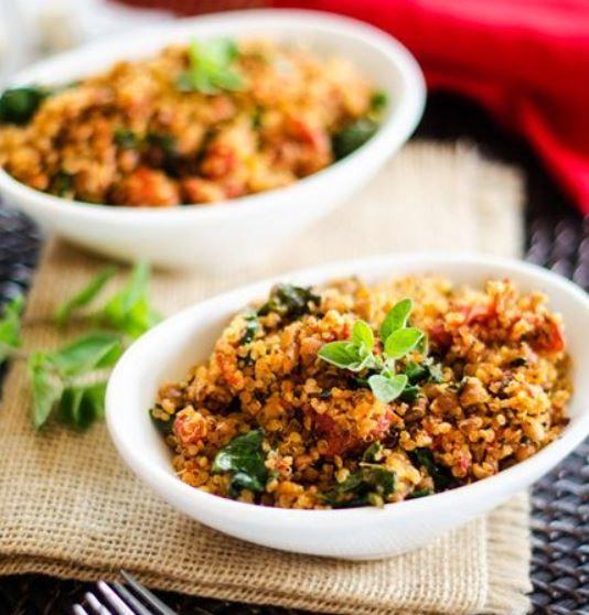 Italian Vegetable Quinoa Bowls Recipes — Dishmaps