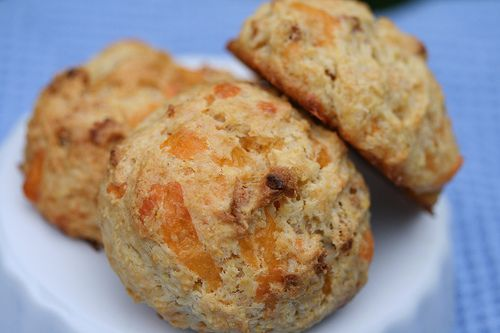 Apple Cheddar Scones (Tuesdays with Dorie) by Food Librarian