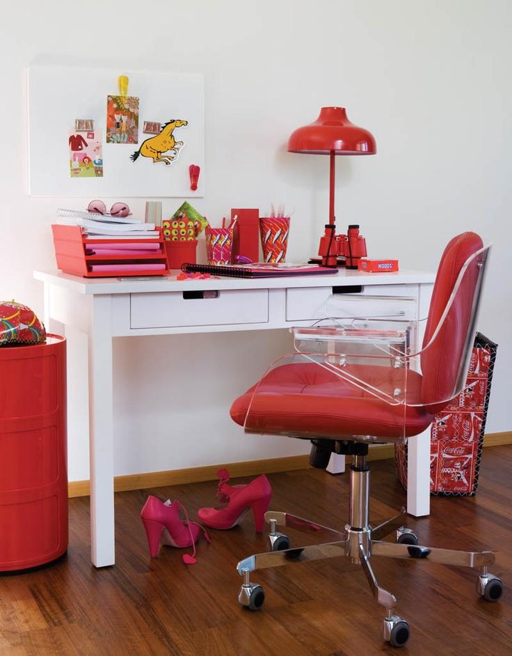 Cool Red Office Design Ideas  LA OFICINA  Pinterest
