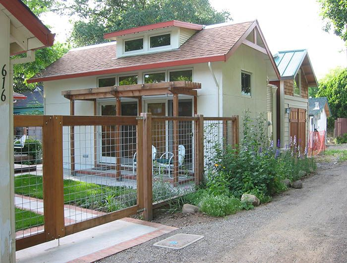 backyard cottage when it fronts on a rear alley like this it 39 s
