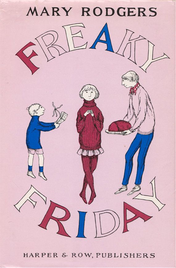 The Illustrated Mum Book Cover : Freaky friday by mary rodgers