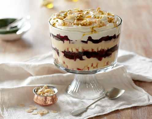 Easy Christmas Trifle | Desserts | Pinterest