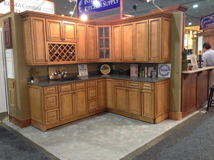 Kitchen Cabinet Kings at the KBIS 2013  Savannah Kitchen Cabinetry
