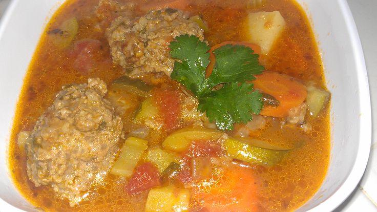 Albondigas Soup | Simply Fancy Cuisine | Pinterest