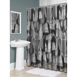 Jysk.ca - CITY SCAPE SHOWER CURTAIN | Bathroom Decor | Pinterest