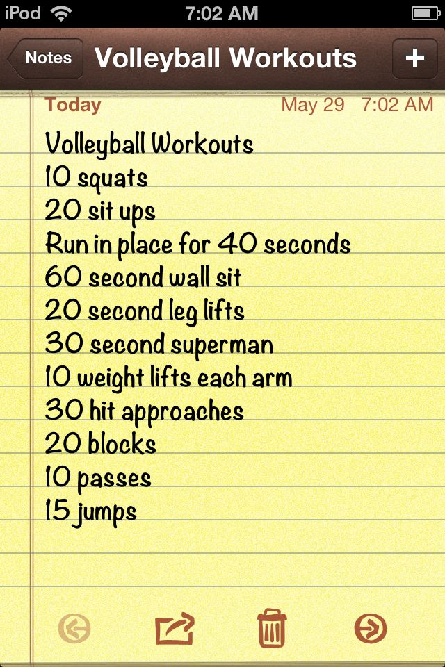 Volleyball workouts | Rock that Bod. | Pinterest