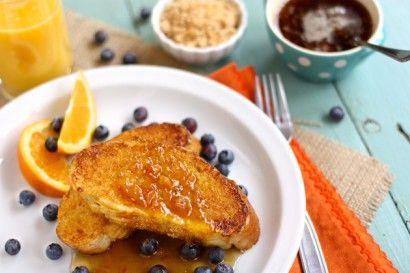 French Toast with Caramelized Cinnamon Orange Sugar | Recipe