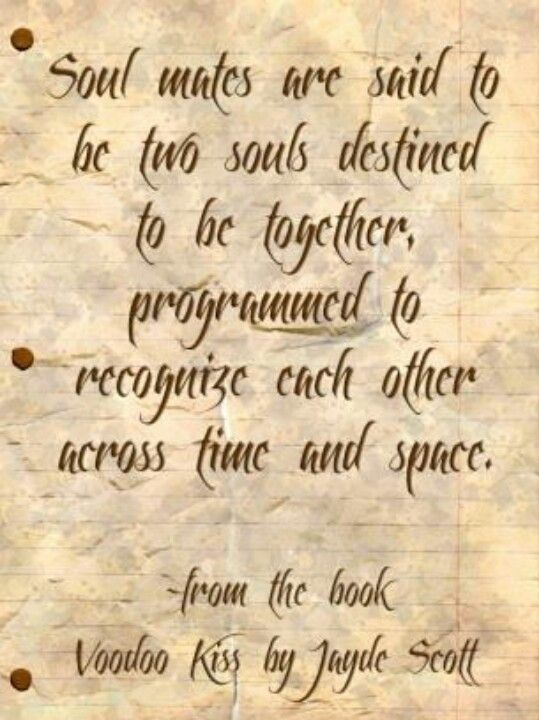 Love and Soul Mate Quote