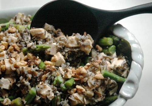 CHICKEN, ASPARAGUS, and WILD RICE SALAD | Food, Food and More Food ...