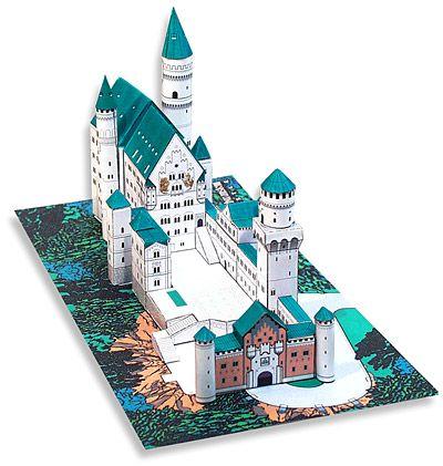 Castle Papercraft Castles