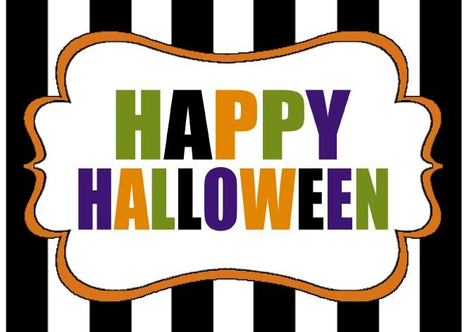 halloween signs images