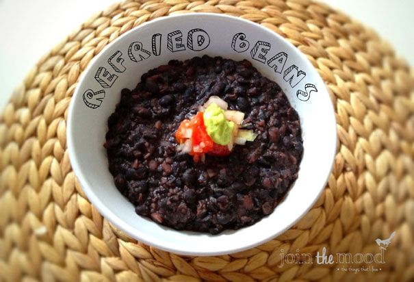 Join the Mood: MEXICAN REFRIED BEANS / FRIJOLES REFRITOS MEXICANOS