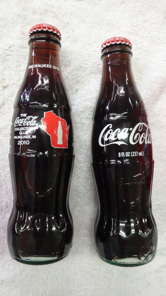 2s coca cola collector club 2010 milwaukee coke bottle. Black Bedroom Furniture Sets. Home Design Ideas