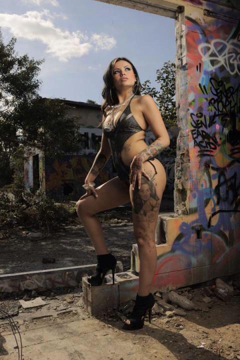 "Tattoo Artist: Ms. Katherine "" TaTu Baby "" Flores XoXo"