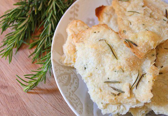 Crisp Rosemary Flatbread | Ampersand Outtakes | Pinterest