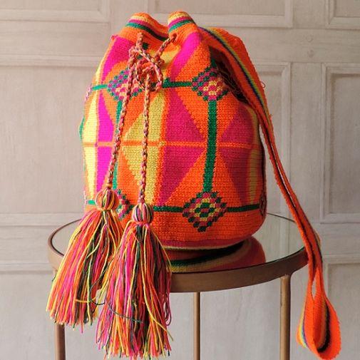Bolso wayuu - Chicfy