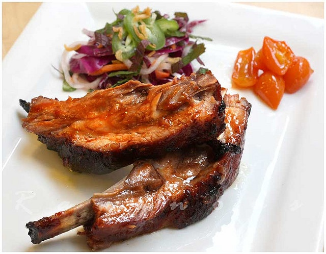 Hoisin Glazed Barbecue Pork Ribs | Recipes to try | Pinterest