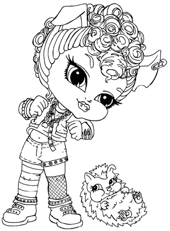 howleen 13 wishes coloring pages - photo#14