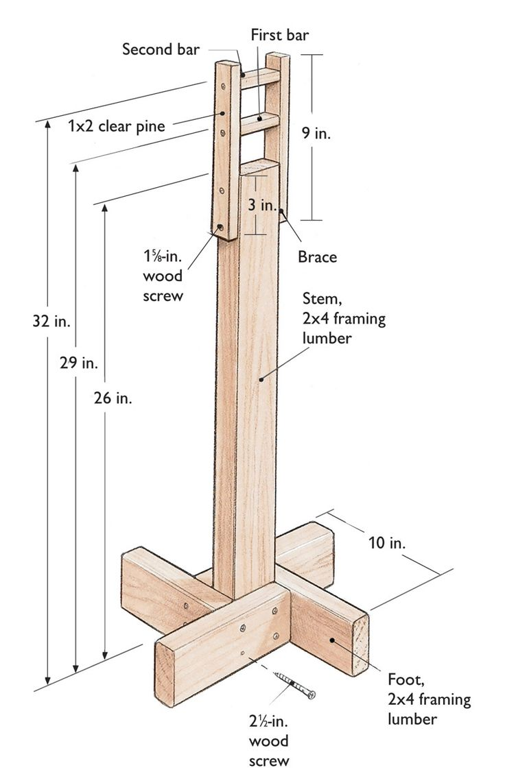 Build Your Own Quilt Frame Quilting Frames Pinterest