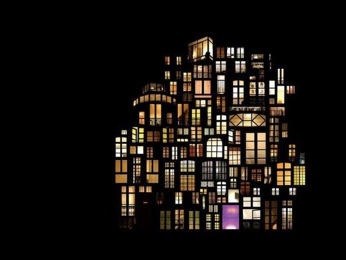 Window collages by anne laure maison art architecture for Anne laure maison