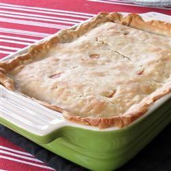 Healthier Chicken Pot Pie IX Allrecipes.com. made this last night and ...