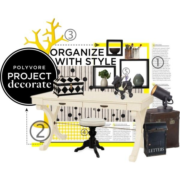 """Organize With Style"" by stacey-yecats on Polyvore"