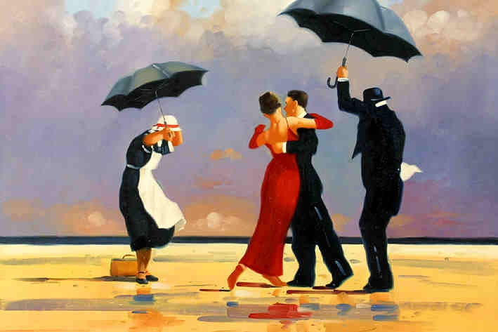 the singing butler by jack vettriano for the home. Black Bedroom Furniture Sets. Home Design Ideas