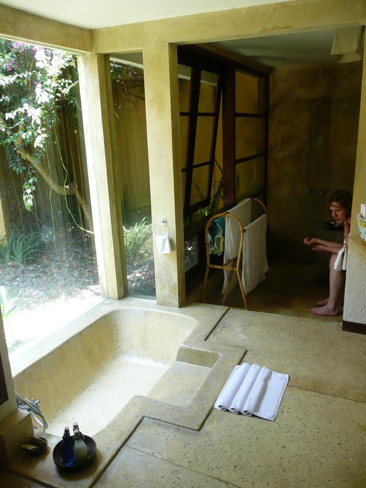 Sunken Bathtub W Step Bathroom Ideas Pinterest