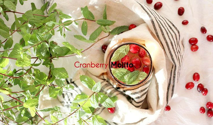 Cranberry Mojito | Fun Beverages | Pinterest