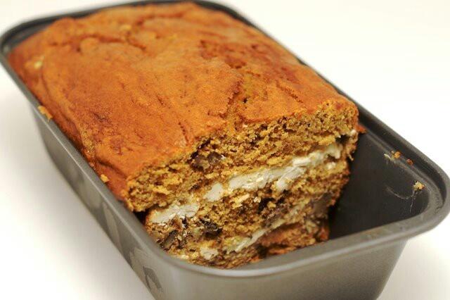 Cream Cheese Swirl Pumpkin Bread | breads n things | Pinterest