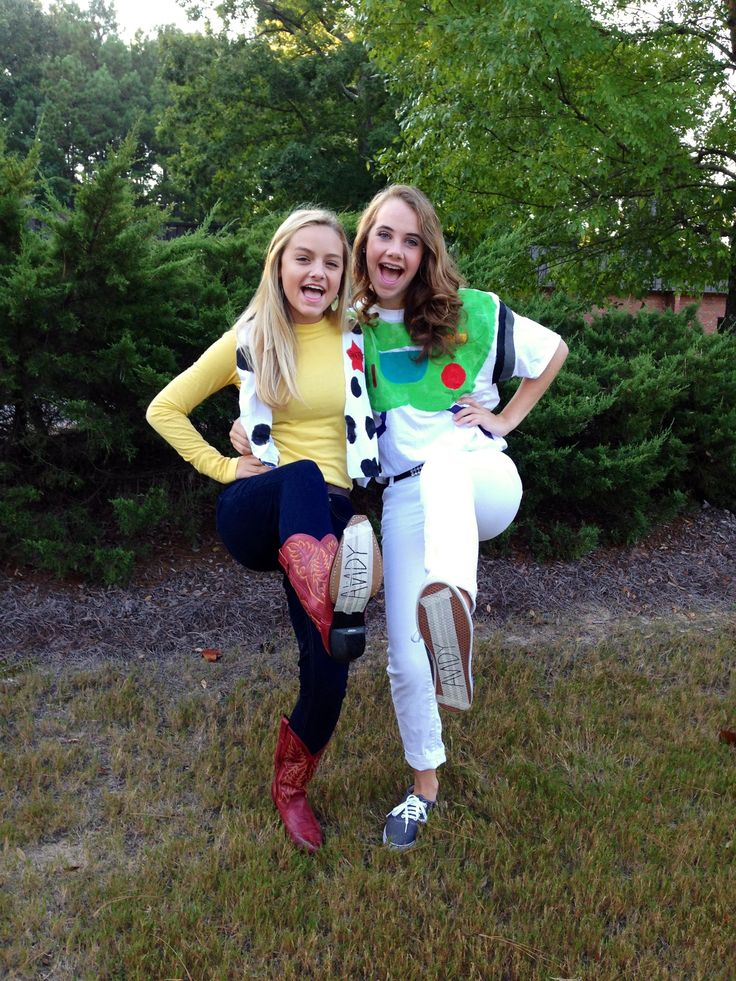 Woody and Buzz costumeWoody And Buzz Couple Costumes