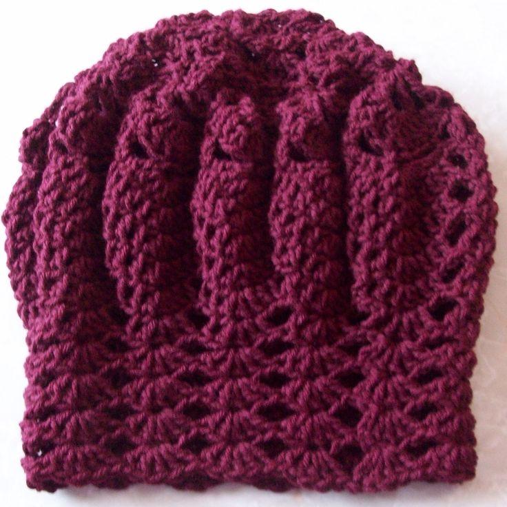 Rasta Knit Hat Pattern : Rasta Wave Hat Free Crochet Pattern Free Crochet Womens Hat Patt?