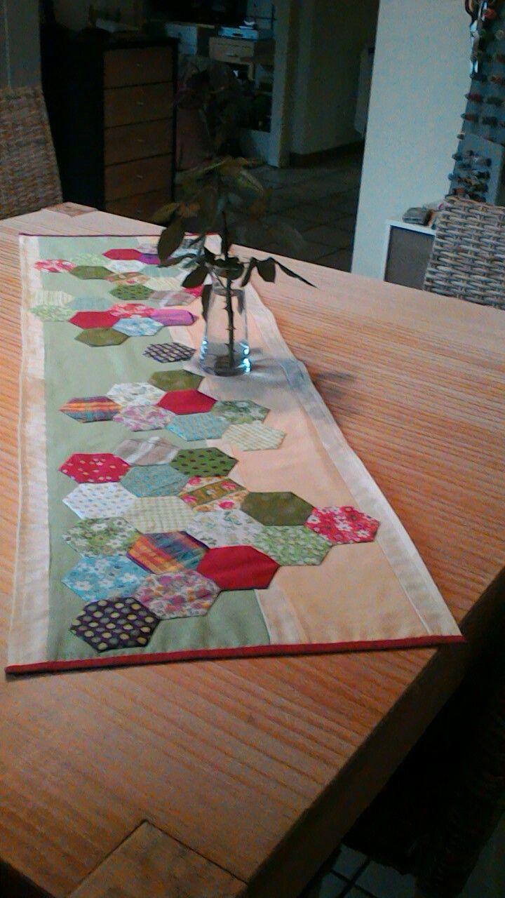 1000 id es sur le th me chemins de table en patchwork sur pinterest plus forte table - Chemin de table en patchwork ...