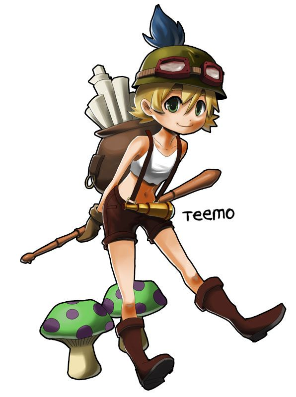 lol how to play teemo