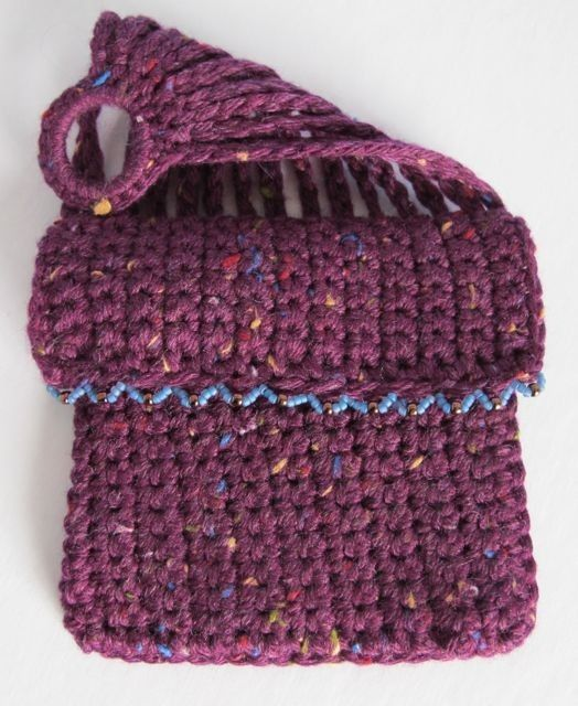 One Sided Misers Purse PDF Crochet Pattern (A Vintage Reproduction)