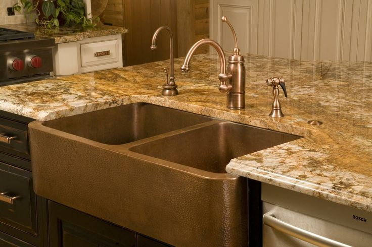 hammered copper sink  Copper Tone  Pinterest