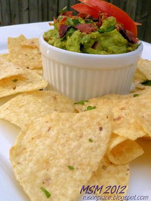 Bacon and Tomato Guacamole | Ms. enPlace
